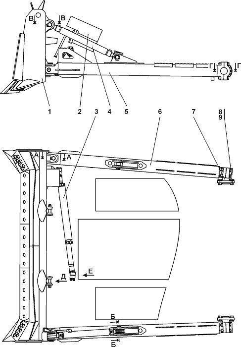 011101-93-3СП Оборудование бульдозерное полусферическое Четра Т 11