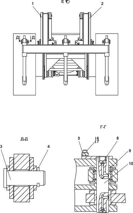 Оборудование рыхлительное Четра Т 11