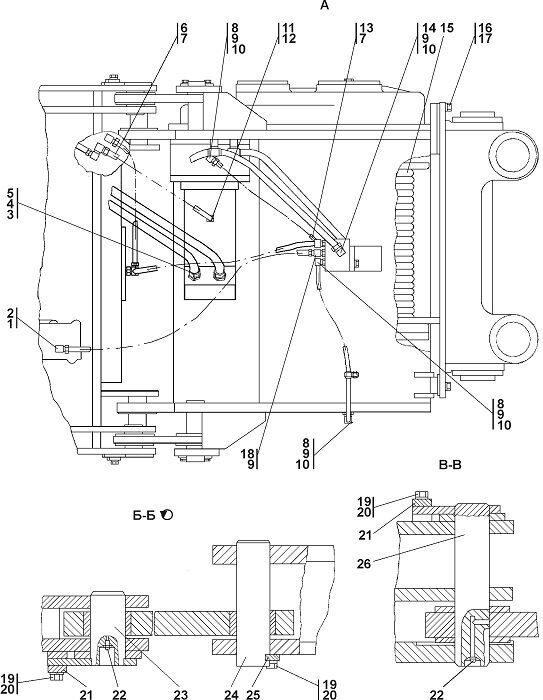 Агрегат тяговый Четра Т 11