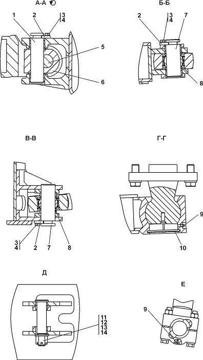 Оборудование бульдозерное полусферическое Четра Т 11