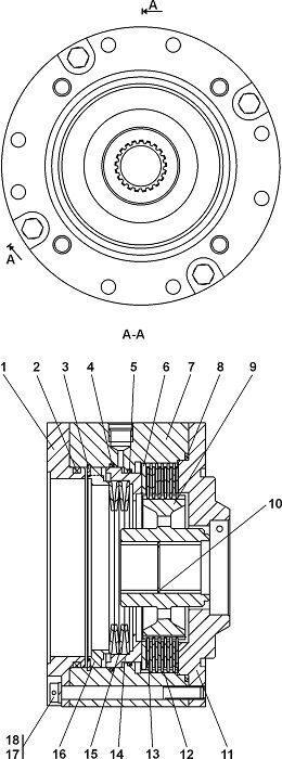 0901-96-100СП Тормоз Четра Т 11
