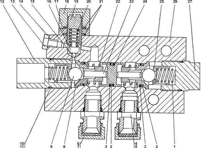 011101-93-560СП Гидрозамок Четра Т 11