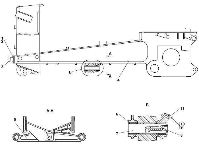 1101-11-3-02СП Рама Четра Т 11