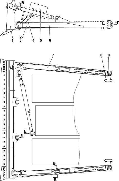 211112-91-1СП Оборудование бульдозерное прямое Четра Т 11