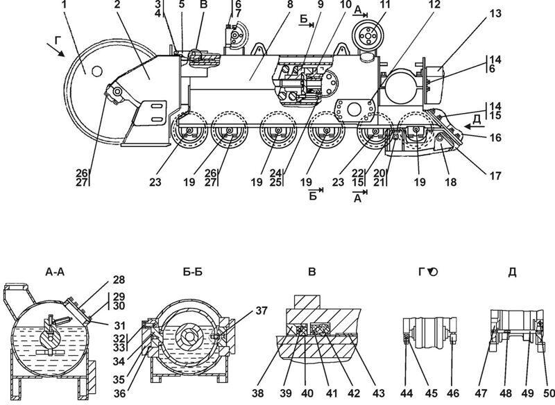 1101-21-72СП/-73СП Тележка Четра Т 11