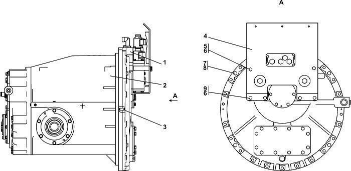 0901-12-14СП Блок трансмиссии бульдозера Четра Т 9