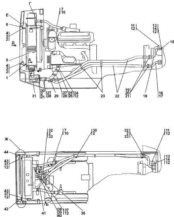 0902-60-1СП Система охлаждения бульдозера Четра Т 9