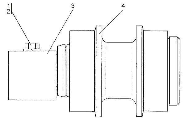 0901-21-115СП Каток поддерживающий бульдозера Четра Т 9