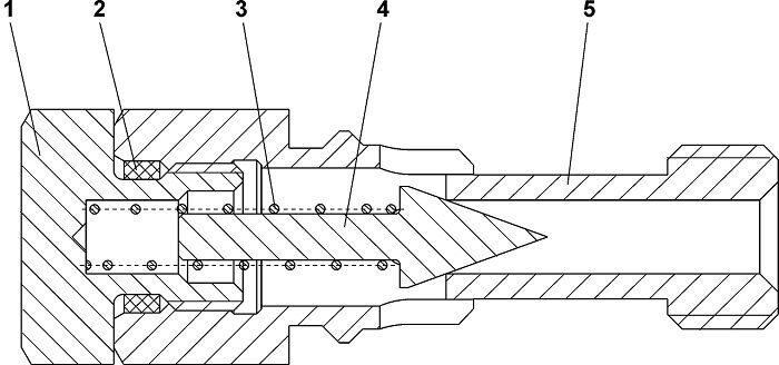 313512-15-4СП Клапан бульдозера Четра Т 9