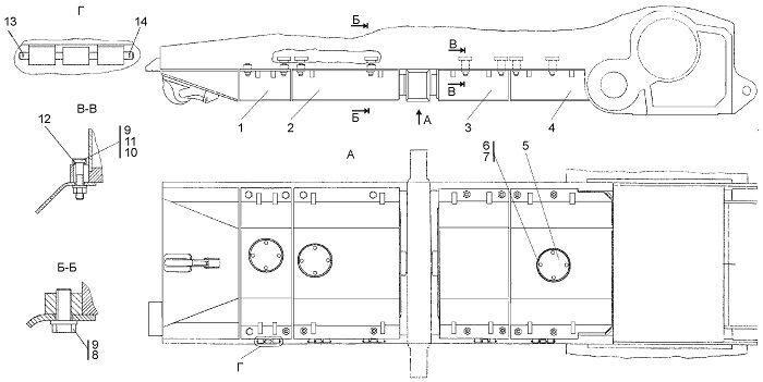 0901-64-1СП Установка кожуха бульдозера Четра Т 9