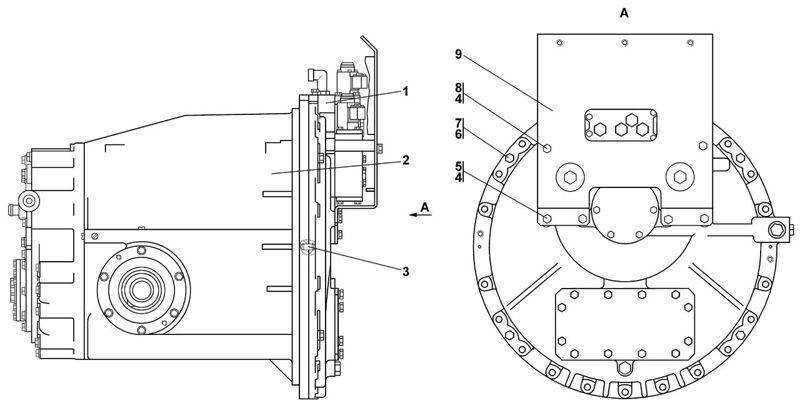 0901-12-14СП Блок трансмиссии Четра Т 11