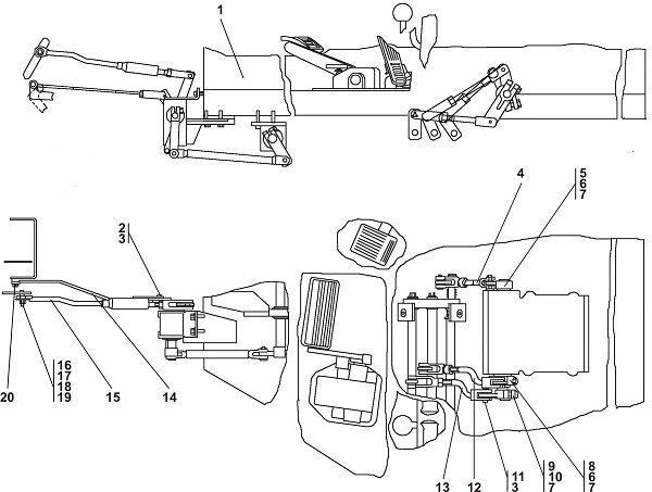 1102-13-1-02СП Управление трактором Четра Т 11