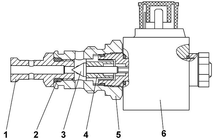 313512-15-2СП Клапан бульдозера Четра Т 9