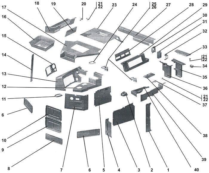 6-22-mashinokomplekt-detalej-i-sborochnykh-edinic-interera-kabiny
