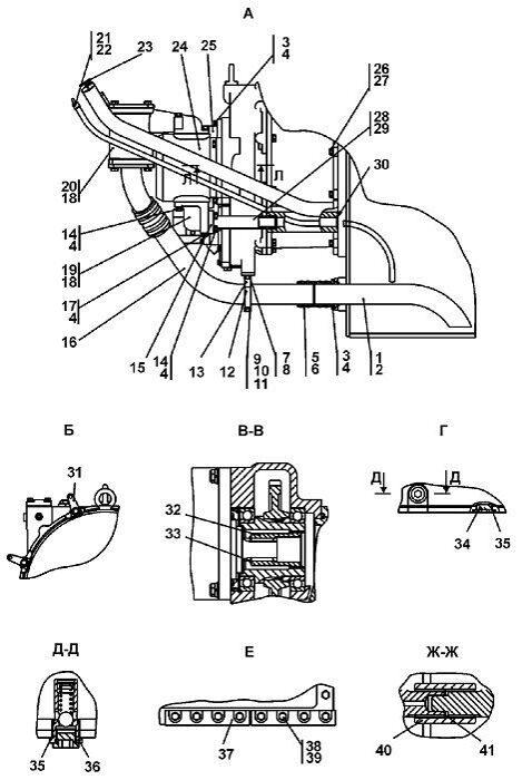 Установка трансмиссии бульдозера Четра Т 9